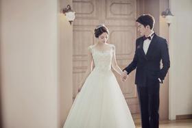 韩式宫殿婚纱照--Queen婚纱摄影