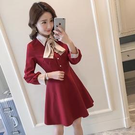 店主推荐新娘短裙圆领创意婚纱礼服