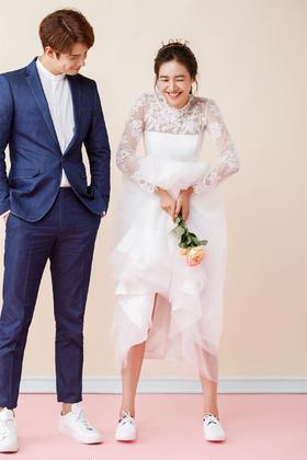 【进部摄影】小清新内景婚纱照