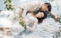 【进部摄影】喜欢一个人或许很简单唯美内景婚纱照
