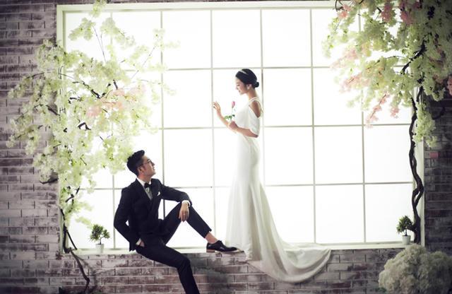 【慕意婚纱摄影】郑州唯美内景婚纱照