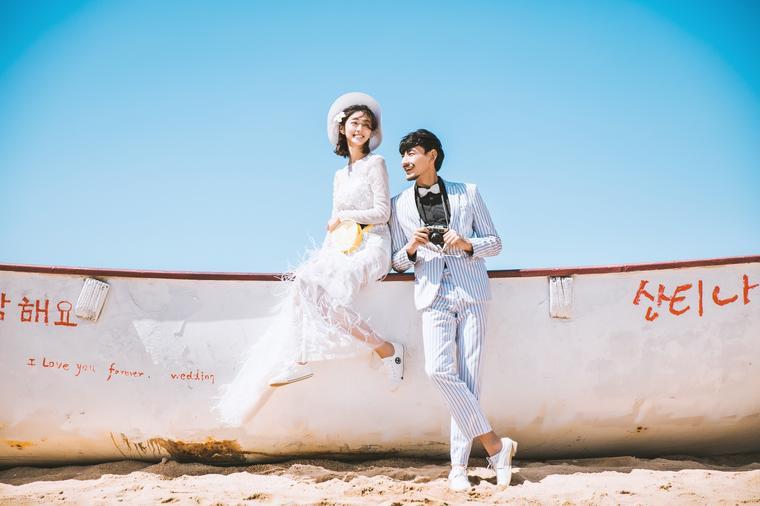 【进部摄影】郑州时尚海景婚纱照