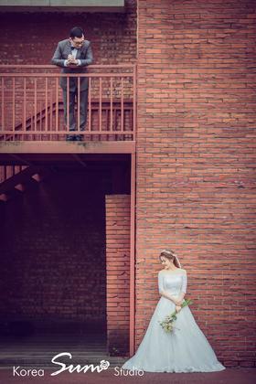 韩国首尔SUM --郑州韩式城墙婚纱照