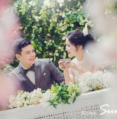 韩国首尔SUM--郑州韩式公园婚纱照