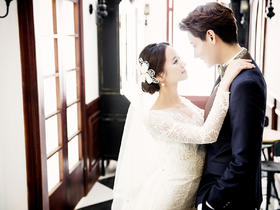 V摄影--郑州韩式宫殿婚纱照