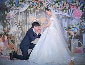 花儿映画婚礼跟拍案例融汇丽笙酒店18.01.01