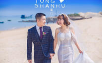 【佰莉婚纱·旅拍】唯美海景婚纱照