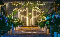 DOCKLANDS-简约森系婚礼布置