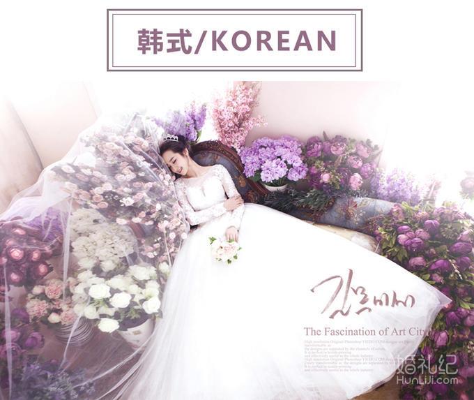 【麦田映像】韩式夜景婚纱照 总监团队 限前50名