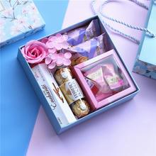 臻忆美结婚糖果礼盒伴手礼回礼婚庆喜糖盒送袋子婚礼喜糖礼盒成品