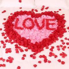 结婚用品假红玫瑰花瓣婚礼求婚表白婚房婚床婚庆装饰生日浪漫布置