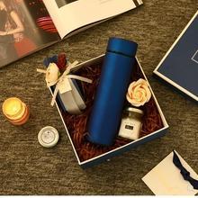 多囍优品 结婚伴手礼男士礼物实用商务礼品盒大号正方形礼盒套装