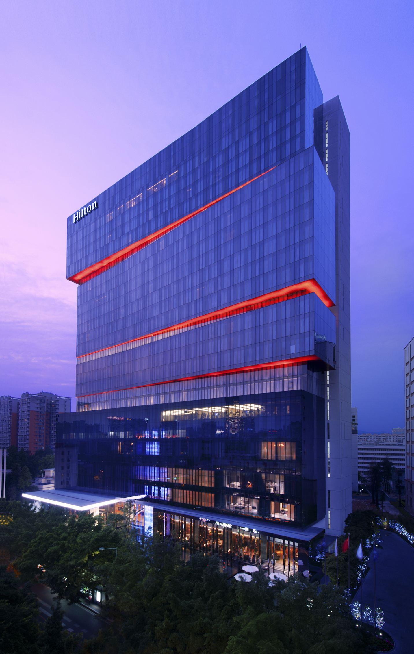 广州天河希尔顿 酒店