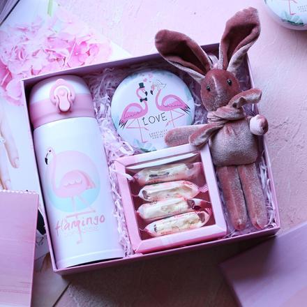 伴娘礼盒回礼创意喜糖礼盒成品伴手礼礼物