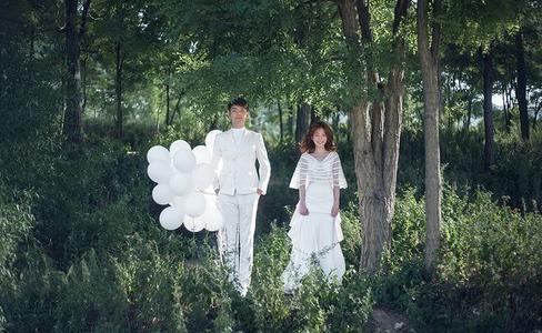 外景婚纱照