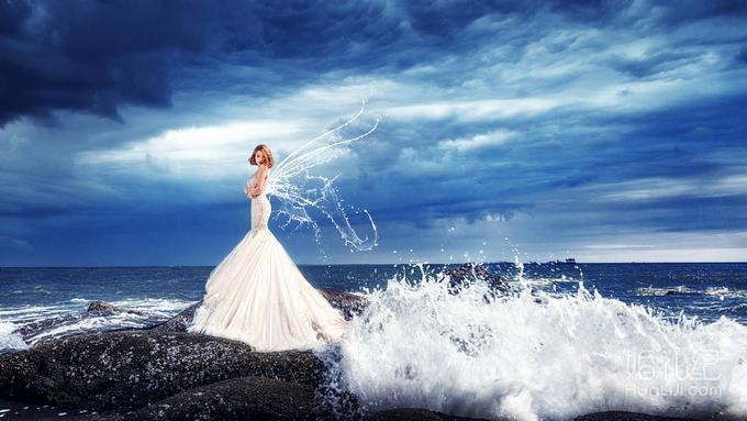 包邮包住+游艇出海+教堂+水下婚纱+水晶船+马场