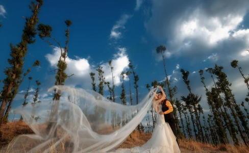 唯美意境婚纱照