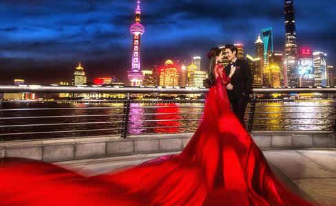 夜景婚纱照