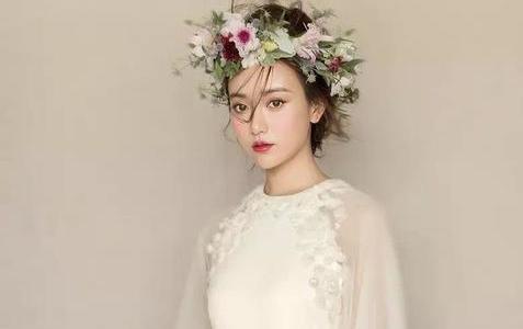 时尚新娘造型