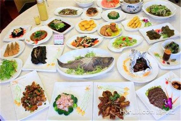 农村婚宴菜单要求图片