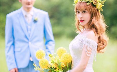 农村户外婚礼现场布置