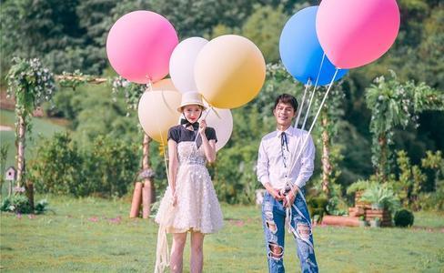 气球婚礼现场布置