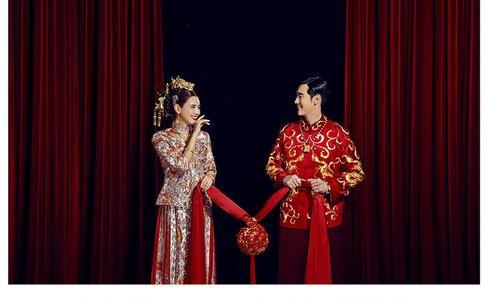中式新娘礼服