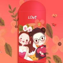 创意新品 个性结婚可爱萌红包袋 原创婚礼婚庆喜事红色利是封