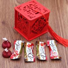 成品 喜糖盒 1件包邮 体验 木糖盒 直接使用