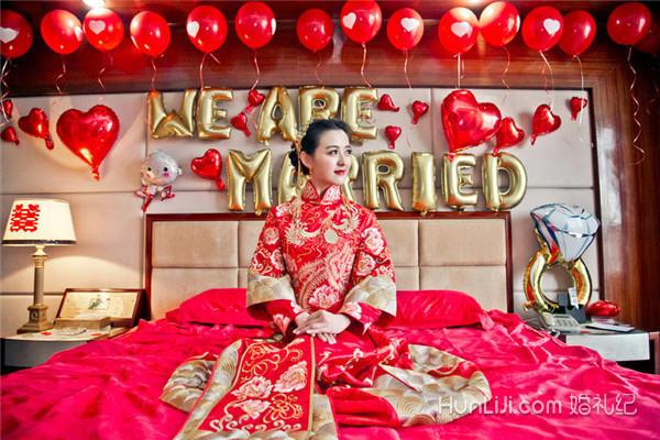 婚房气球装饰简单实用技巧