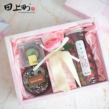 大理石粉色百日宴多肉伴手礼婚礼糖盒回礼女友伴娘礼物生日品礼盒