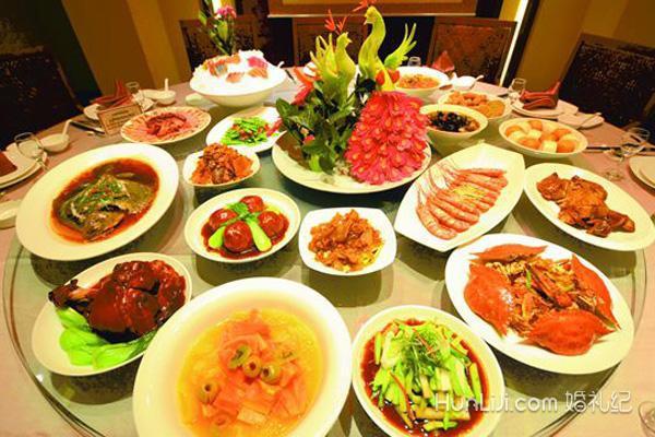 农村婚宴酒席菜单大全图片