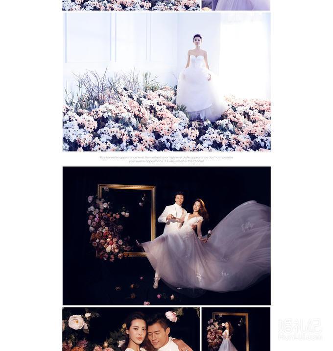 韩国王的宫殿婚纱摄影  唯美韩式系列婚纱照
