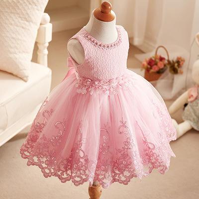 法式浪漫小公主花童礼服