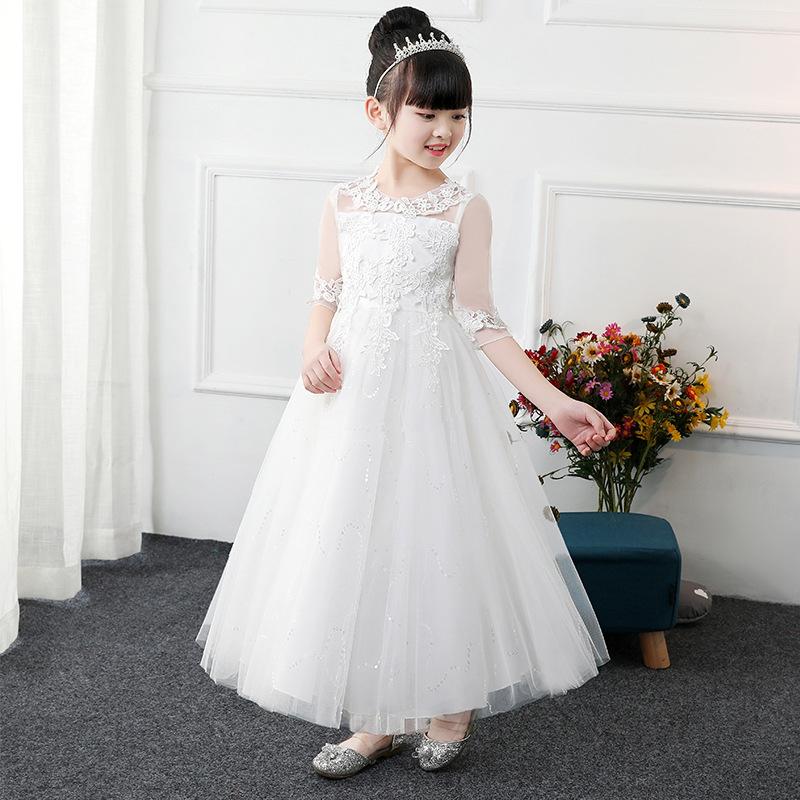 韩式小公主蓬蓬裙花童礼服