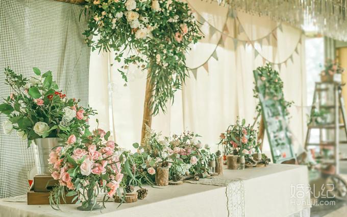 简悦婚礼| 白绿清新森系婚礼·含四大金刚