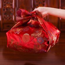 包袱皮结婚庆用品大号刺绣红包袱皮新娘女方陪嫁嫁妆喜盆包裹布