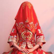 结婚婚庆用品创意新娘陪嫁系列中式红盖头流苏盖头布喜字婚礼嫁妆
