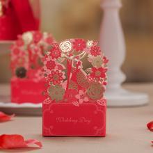 西式创意糖盒子结婚装糖礼盒婚礼糖果盒费列罗创意喜糖欧式
