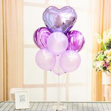 婚礼布置装饰立柱桌飘透明底座桌面支架气球托杆气球套装