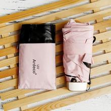 【夏季必备】德国超轻五折伞迷你晴雨伞两用防晒防紫外线遮阳伞