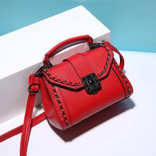 时尚迷你个性小包包女新款女士韩版锁扣手提包单肩斜挎包女包