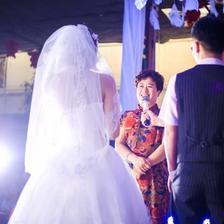 结婚庆典女方家长讲话