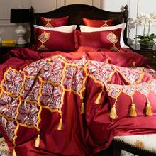 完美婚礼 100支美国进口匹马棉四件套