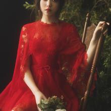 亲爱的白原创正品《绯色的香调》聚会酒会短款红色宴会年会晚礼服