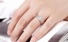 男生戒指的戴法图解