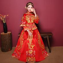 秀禾服2018新款结婚敬酒服新娘礼服中式婚纱古装嫁衣秀和服绣