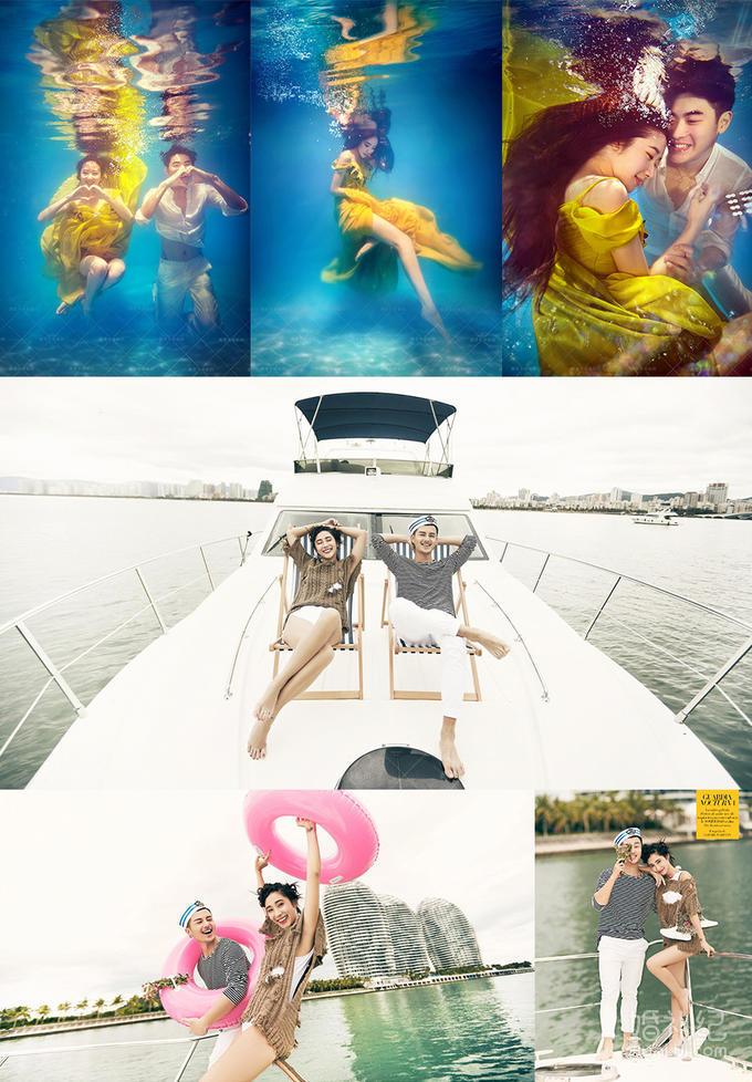 【机票补贴】游艇一日游+半山半岛+别墅酒店+包邮