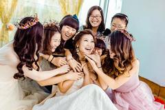 婚礼伴娘祝福语推荐