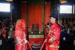 中式婚礼拜堂仪式流程